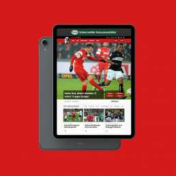Sc Freiburg - tablet view